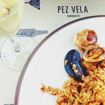 Pez Vela · Paseo del Mare Nostrum 19 ( Hotel W ) · BCN